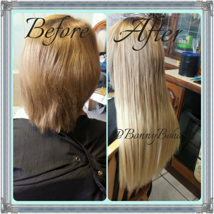 Treatment info bonny boho i specialise in designer balmain hair extensions monofibre hair and i also offer my bonny boho range set in 3 types to suit clients lifestyle and budget pmusecretfo Images